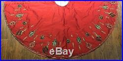 $995 Kim Seybert Christmas Tree Skirt Neiman Marcus