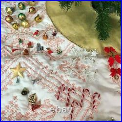 American Girl 2001 Christmas Tree Pleasant Company With Decorations & Tree Skirt