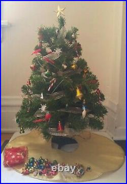 American Girl 24 Christmas Tree with Ornaments, Skirt, Garlands, Star Topper