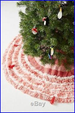Anthropologie Layered Loops Tree Skirt