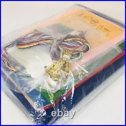 BUCILLA BLUE FELT NATIVITY TREE SKIRT Applique Kit Christmas #82720 43 -RARE
