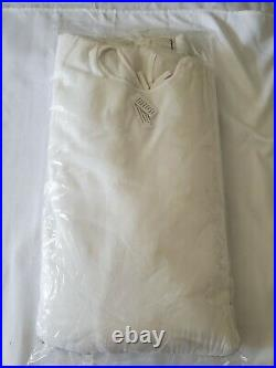 Balsam Hill 72 White Plaza Fringe Tree Skirt