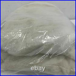 Balsam Hill NEW 72 Ivory Lodge Faux Fur Tree Skirt (4001159) Fur Tree Skirt