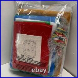 Bucilla Ho Ho Ho Santa Felt Christmas Tree Skirt Kit-Discontinued #86168 New