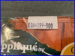 Bucilla New Felt Appliqué 83980 Christmas Village 43 Round Tree Skirt Kit