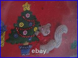 Christmas BUCILLA Felt Applique Craft TREE SKIRT Kit, WOODLAND HOLIDAYS, 84961,42