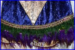 Dillard Trimsetter New Large 60 Multicolored Jeweled Christmas Tree Skirt