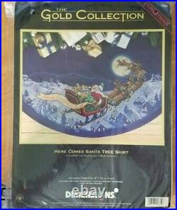 Dimensions Gold Collection Counted Cross Stitch Kit Christmas Tree Skirt