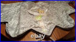 Disney Direct Tinker Bell Tinkerbell Christmas Tree Skirt grey/silver