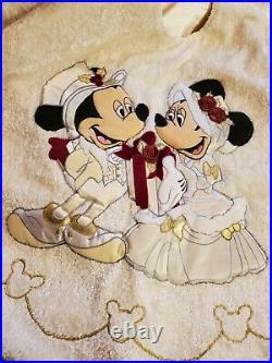 Disney Mickey & Minnie Christmas Soft Victorian Tree Skirt