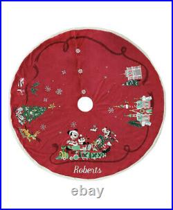 Disney Mickey Mouse & Friends Christmas Holiday 2020 Tree Skirt SOLD OUT ONLINE