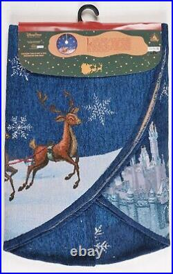 Disney Parks Good Tidings Christmas Tree Skirt Mickey Minnie 48 NEW