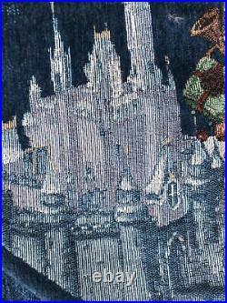 Disney Parks Mickey And Minnie Sleigh Holiday Christmas Tree Skirt BNWT Rare