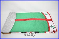 Disney Parks Santa Mickey Minnie Holiday Christmas Tree Skirt