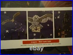Hallmark 2020 Harry Potter Hogwarts Castle Magic Light Up Christmas Tree Skirt