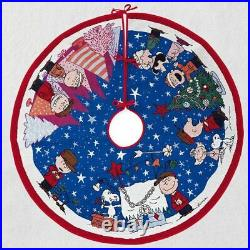 Hallmark Peanuts Charlie Brown Christmas Light Up Magic Tree Skirt