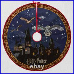 Hallmark Storytellers Harry Potter Christmas Lighted Tree Skirt 2020 Mib