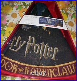 Harry Potter Hogwarts Castle Magic Light Up Christmas Tree Skirt Hallmark 2020