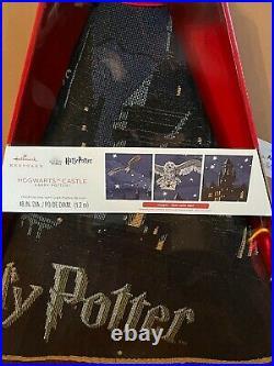 Harry Potter Hogwarts Castle Magic Light Up Hallmark 2020 Christmas Tree Skirt