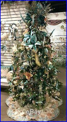 Katherine's Collection Treasures of Sea Coastal Christmas Tree Skirt, 30-930207