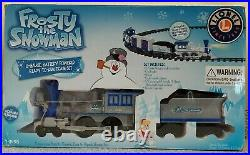 Lionel Frosty The Snowman GGauge Batt Pwr Christmas Tree Skirt Train Set 7-11498