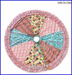 Matilda Jane Christmas Memento Tree Skirt & Matching Stocking 5 Piece Set New