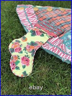 Matilda Jane Christmas Memento Tree Skirt Pear Baby Doe Sweet Noel Stocking 5 Pc