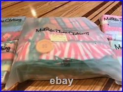 Matilda Jane Momento Christmas Tree Skirt and 4 Matching Stocking (5 Piece Set)