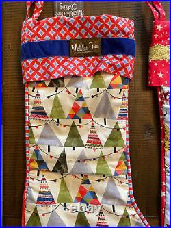 NWT Matilda Jane Christmas Tree Skirt, Matching Stockings, Ornaments, Wrapping