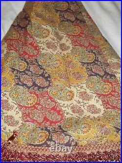 New Neiman Marcus Dransfield and Ross Heavy Beaded Tapestry Tassel Tree Skirt