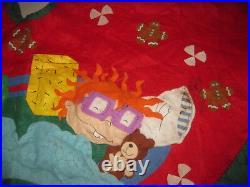 Nickelodeon Rugrats Vintage Christmas Tree Skirt Amazing 3D Retro