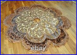 Palazzo Tree Skirt by Frontgate 72 Large