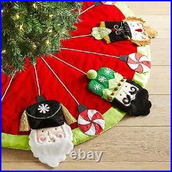 Pier 1 Imports Nutcracker Christmas Tree Skirt 50 ADORABLE