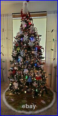 Ultra Rare Krinkles by Patience Brewster 12 Days of Christmas Tree Skirt Dep 56