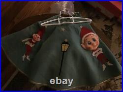 Vintage Pixie Tree Skirt