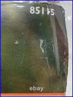 Vtg BUCILLA Felt Applique Christmas TREE SKIRT Kit WOODLAND SANTA Size 43 85115