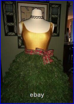 Womens WEARABLE Christmas Tree Skirt