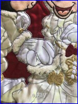 XXL Disney Theme Park Mickey Minnie Mouse Wedding Theme Christmas Tree Skirt